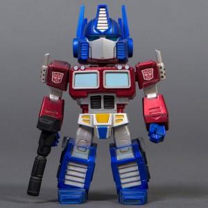 BAIT x Transformers x Switch Collectibles Optimus Prime 4.5 Inch Figure - Antique Metals Edition