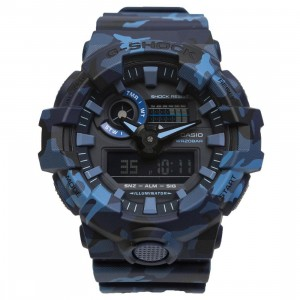 G-Shock Watches GA700CM-2 (camo / blue)