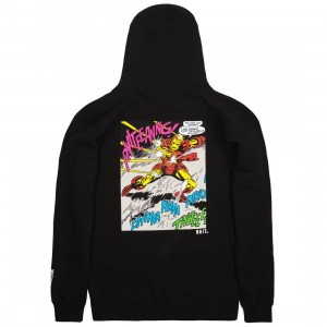 BAIT x Marvel Comics Men Iron Man Invincible Hoody (black)