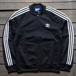 Adidas Men Superstar Relaxed Track Jacket (black / white)