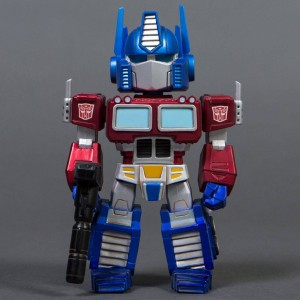 BAIT x Transformers x Switch Collectibles Optimus Prime 6.5 Inch Figure - Antique Metals Edition