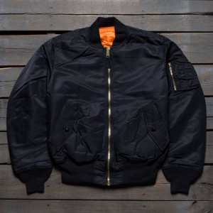 Alpha Industries Men Alpha MA-1 Flight Jacket (black)