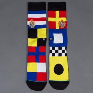 Stance Men Sailaway Socks (yellow / multi)