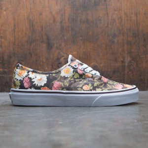 Vans Men Authentic - Abstract Floral (black / flower)