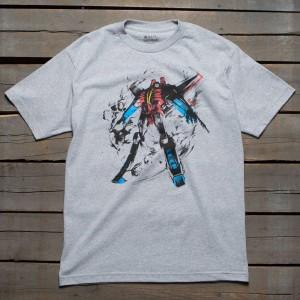 BAIT x Transformers Men Starscream Tee (gray / heather grey)