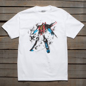BAIT x Transformers Men Starscream Tee (white)