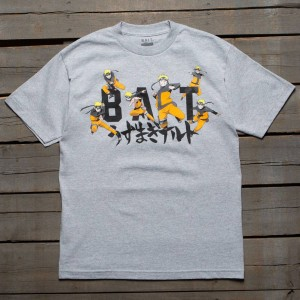 BAIT x Naruto Men BAIT Naruto Tee (gray / heather grey)