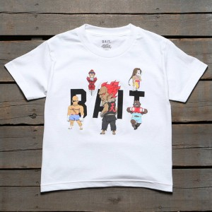 BAIT x Street Fighter Chibi Boss Youth Tee (white)