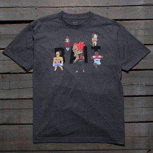 BAIT x Street Fighter Men Chibi Boss Tee (gray / charcoal heather)