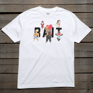 BAIT x Street Fighter Men Chibi Boss Tee (white)