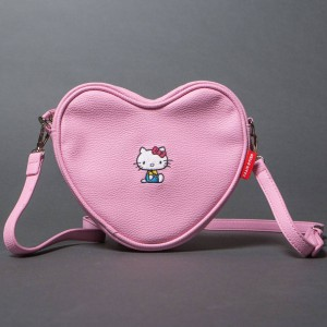 Lazy Oaf x Hello Kitty Soft Heart Bag (pink)