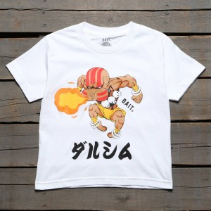 BAIT x Street Fighter Chibi Dhalsim Youth Tee (white)