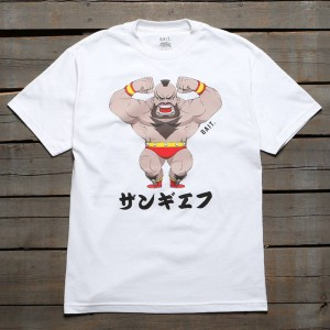 BAIT x Street Fighter Men Chibi Zangief Tee (white)