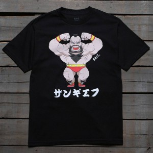 BAIT x Street Fighter Men Chibi Zangief Tee (black)