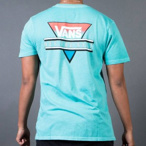 Vans Men Vintage Retro Tri Tee (blue / baltic)