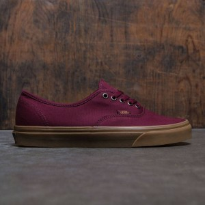 Vans Men Authentic - Light Gum (burgundy / port royale / gum)