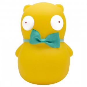 Kidrobot x Bob's Burger Kuchi Kopi 7 Inch Glow In The Dark Medium Figure (green)
