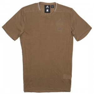 Adidas x Undefeated Men Supernova Tee (khaki / base khaki)