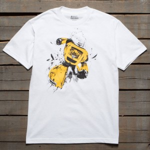 BAIT x Transformers Men Bumblebee Tee (white)