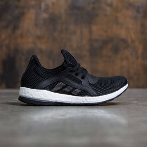 Adidas Women Pure Boost X (black / core black / solid grey)