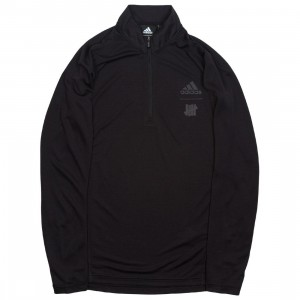 Adidas x Undefeated Men Running Half-Zip Sweatshirt (black)