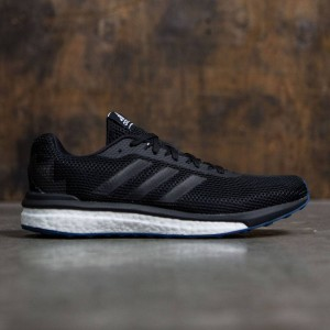 Adidas Men Vengeful (black / core black / solar red)