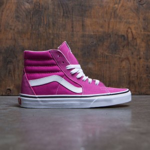 Vans Men Sk8-Hi (white / very berry)