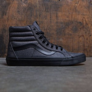 Vans Men Sk8-Hi (black / mono chambray)