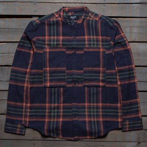 10 Deep Men Mandarin Workshirt (navy)