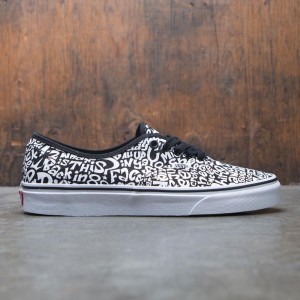 Vans x A Tribe Called Quest Men Authentic - Track List (black / white)