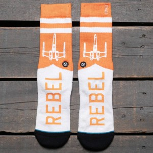 Stance x Star Wars Varsity Rebel Socks (orange)