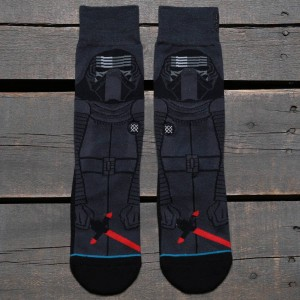 Stance x Star Wars Kylo Ren Socks (gray / dark gray)