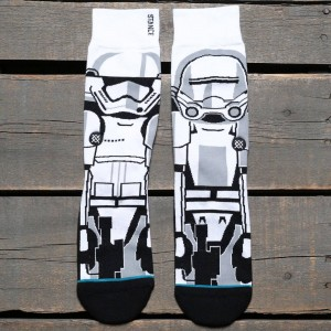 Stance x Star Wars Trooper 2 Socks (white)