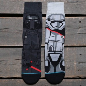 Stance x Star Wars First Order Socks (gray / dark gray)