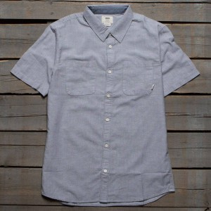 Vans Men Pierson Woven Shirt (gray / gravel)