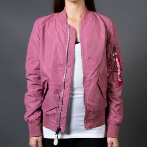 Alpha Industries Women L2B Scout Flight Jacket (pink / tulip)