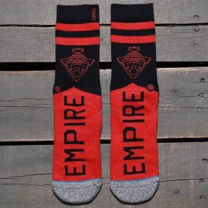 Stance x Star Wars Varsity Empire Socks (red)