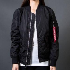 Alpha Industries Women L2B Scout Flight Jacket (black)