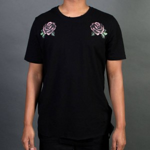 Lifted Anchors Men Wish Tee (black / rose)