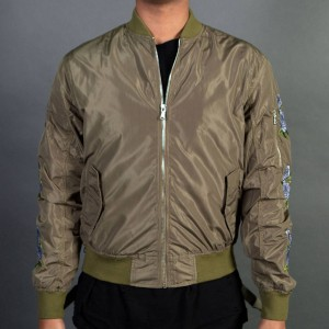 Lifted Anchors Men Rosa Jacket (green / olive)