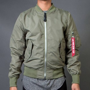 Alpha Industries Men L2B Scout Lightweight Reversible Jacket (green / sage)