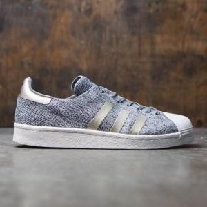 Adidas Men Superstar Boost Primeknit - Noble Metal  (gray / solid grey)