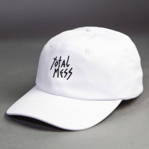 Lazy Oaf Total Mess Cap (white)