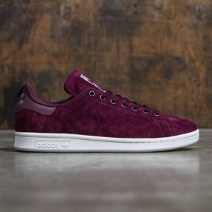 Adidas Men Stan Smith (burgundy / maroon / footwear white)