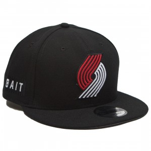 BAIT x NBA X New Era 9Fifty Portland Trail Blazers OTC Snapback Cap (black)