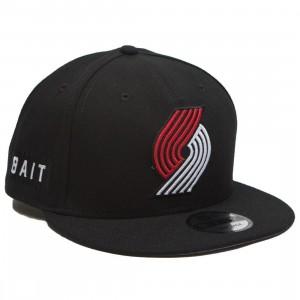 BAIT x NBA X New Era 9Fifty Portland Trail Blazers OTC Snapback Cap (black)