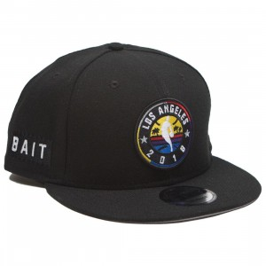 BAIT x NBA X New Era 9Fifty NBA All Star Game OTC Snapback Cap (black)