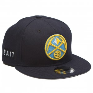 BAIT x NBA X New Era 9Fifty Denver Nuggets OTC Snapback Cap (navy)