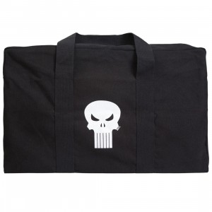BAIT x Marvel The Punisher Large Military Canvas Duffel Bag (black)