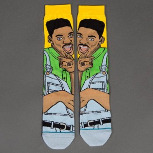 Stance x The Fresh Prince of Bel Air Men Will Socks (yellow)